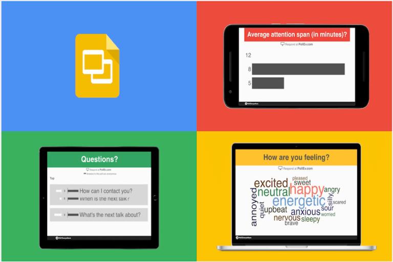 PollEverywhere lisamine Google slaididele